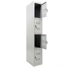 Kleding locker 4 vaks Basis Module